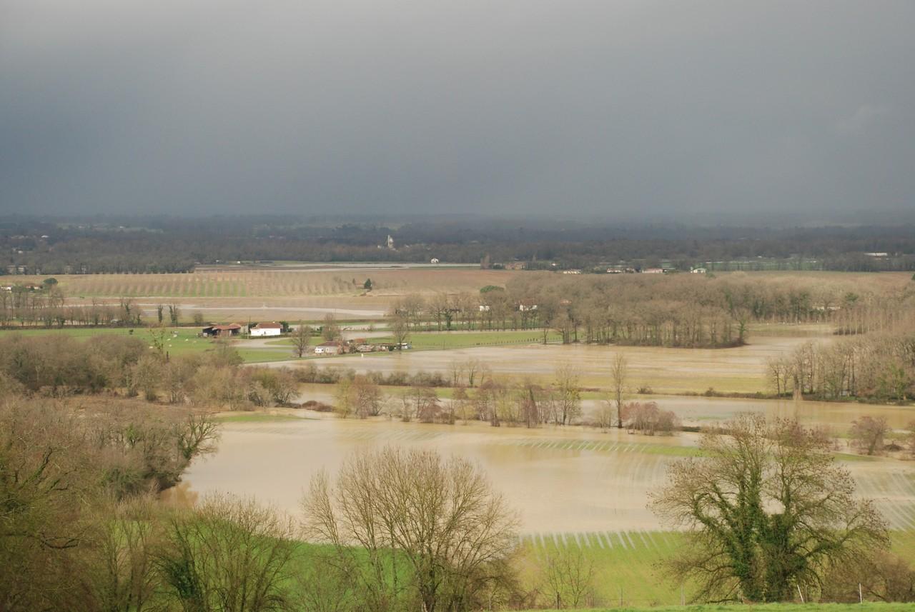 Inondation Gabas